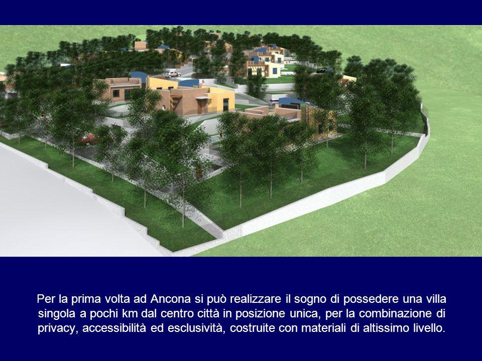 Per la prima volta ad Ancona si può realizzare il sogno di possedere una villa singola a pochi km dal centro città in posizione unica, per la combinaz