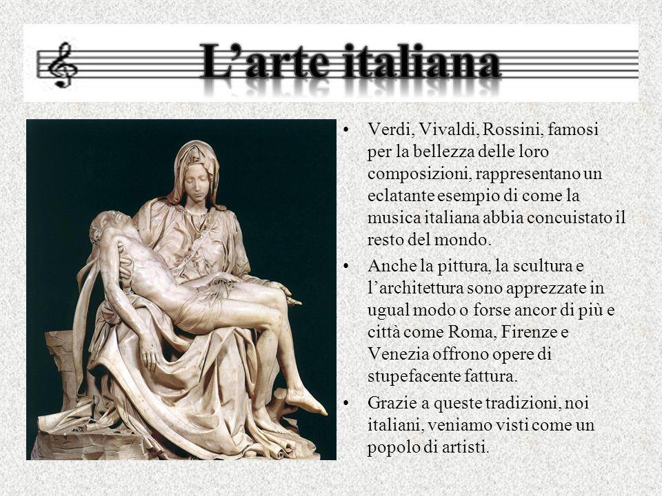Verdi, Vivaldi, Rossini, famosi per la bellezza delle loro composizioni, rappresentano un eclatante esempio di come la musica italiana abbia concuista