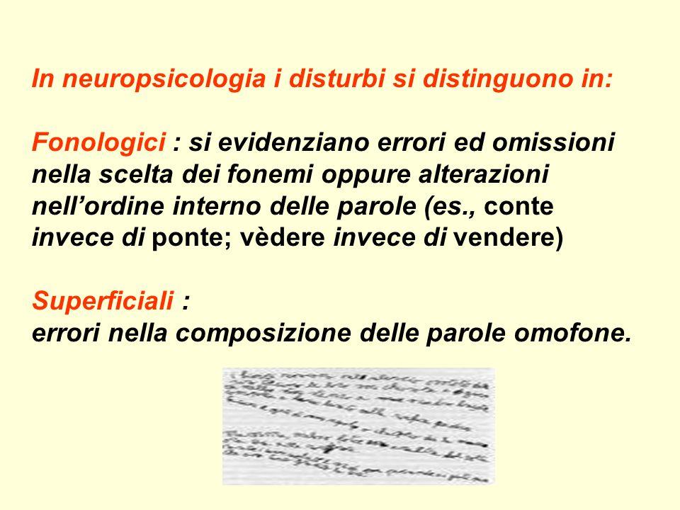 La disgrafia e la disortografia La disgrafia consiste nella difficoltà di riprodurre segni alfabetici e numerici. La disortografia consiste nellincomp