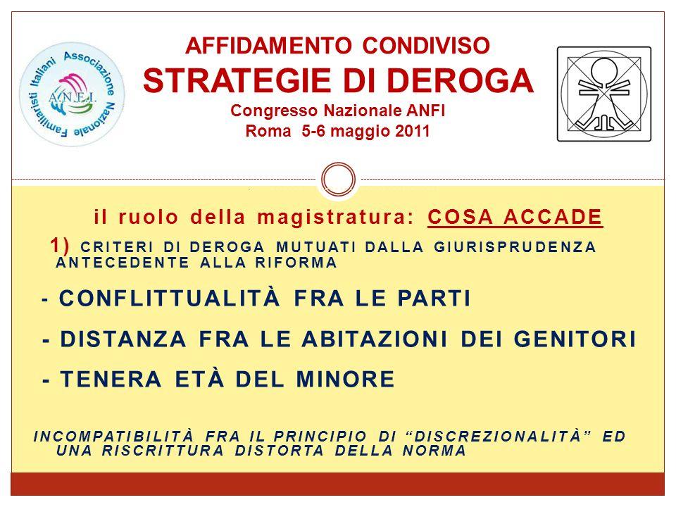 RIFORMA APPROVATA NEL FEBBRAIO 2006 SUPREMA CORTE DI CASSAZIONE, SEZIONE I CIVILE, SENTENZA N.