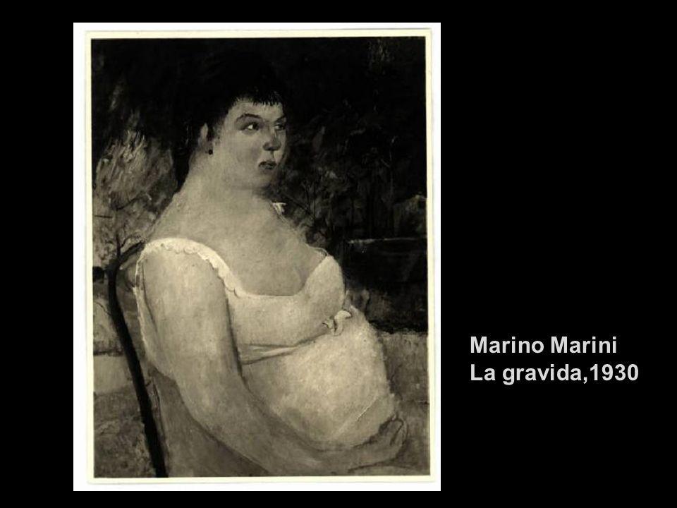 Marino Marini La gravida,1930
