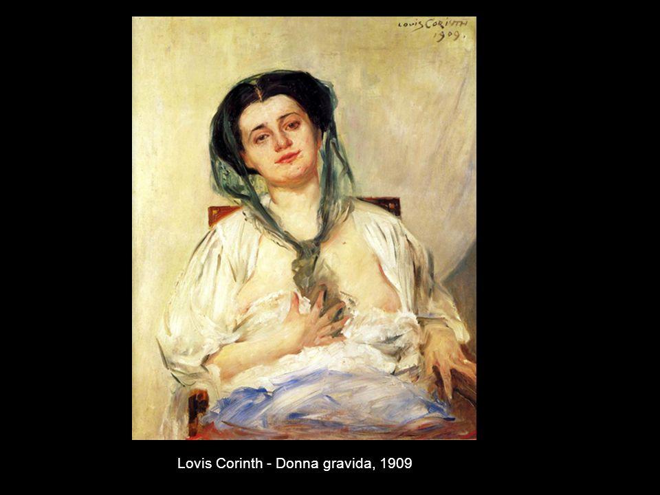 Lovis Corinth - Donna gravida, 1909