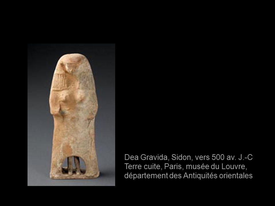 Dea Gravida, Sidon, vers 500 av. J.-C Terre cuite, Paris, musée du Louvre, département des Antiquités orientales