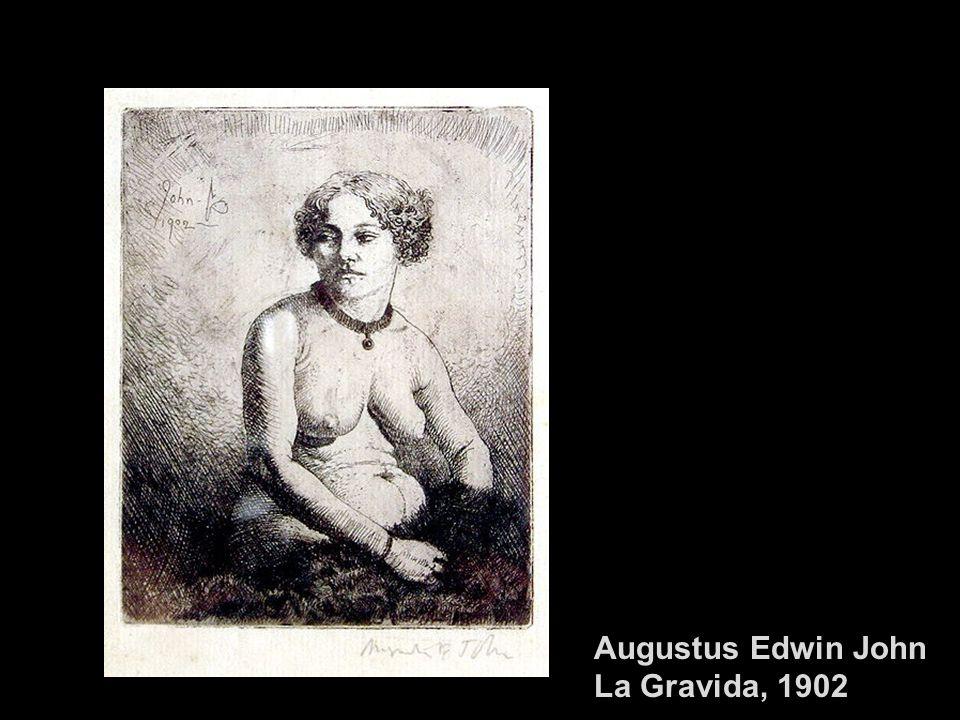 Egon Schiele, Nudo di donna incinta, 1910