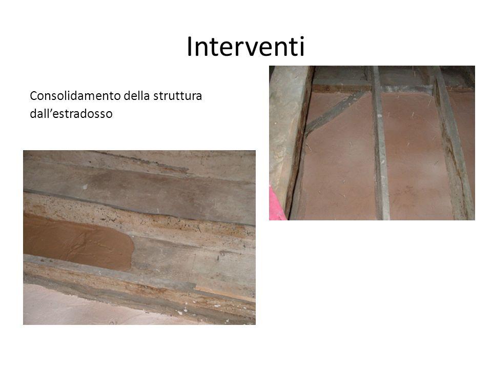 Interventi Consolidamento della struttura dallestradosso