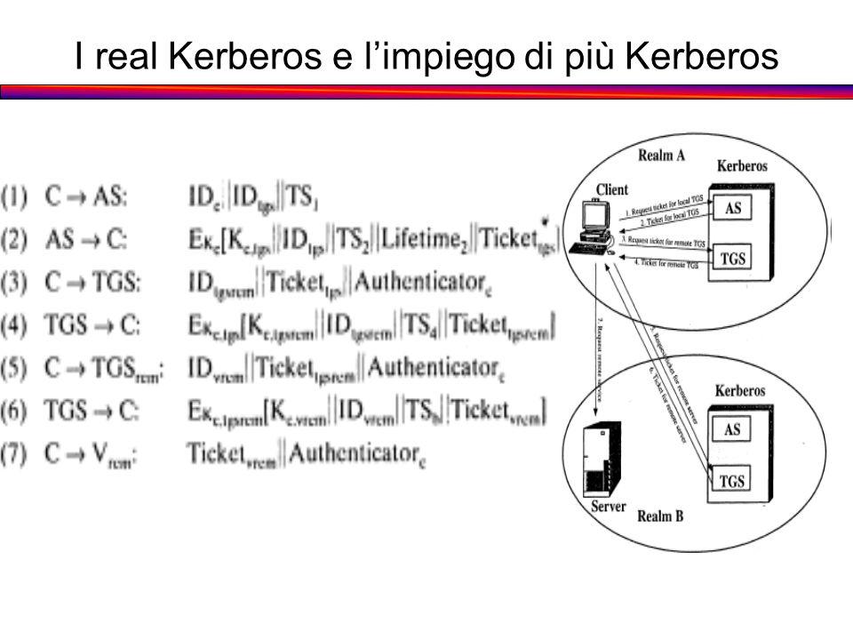 I real Kerberos e limpiego di più Kerberos