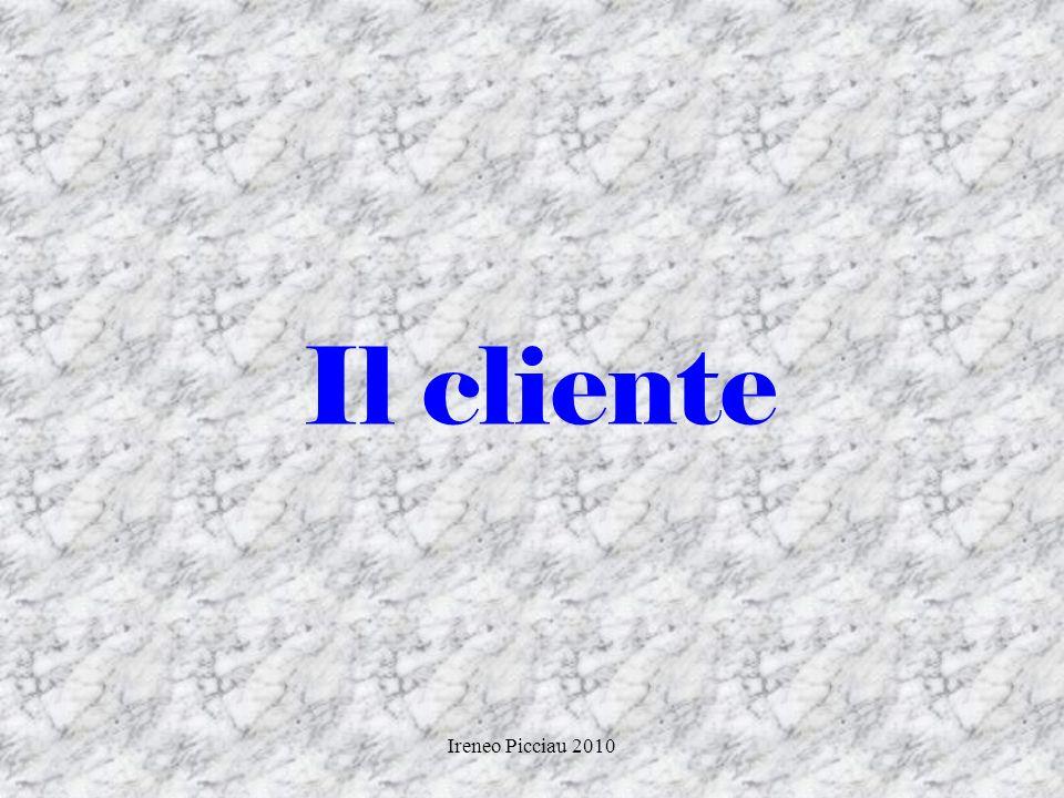 Ireneo Picciau 2010 CAUSE FREQUENTI DI INSUCCESSO 2 Non saper trattare i reclami Prendere lobiezione come un fatto personale Troppe conversazioni gene