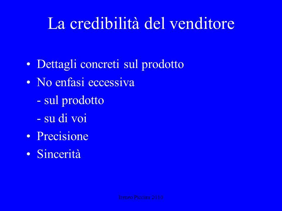 Ireneo Picciau 2010 Il linguaggio del corpo Attenzione ai primi 90 secondi Stretta di mano energica, senza esagerare Utilizzo delle mani e della gestu