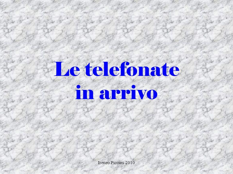 Ireneo Picciau 2010 servirsi di una valida ragione per far desiderare al cliente di incontrarvi (aggancio) presentarsi in modo completo (cognome… nome