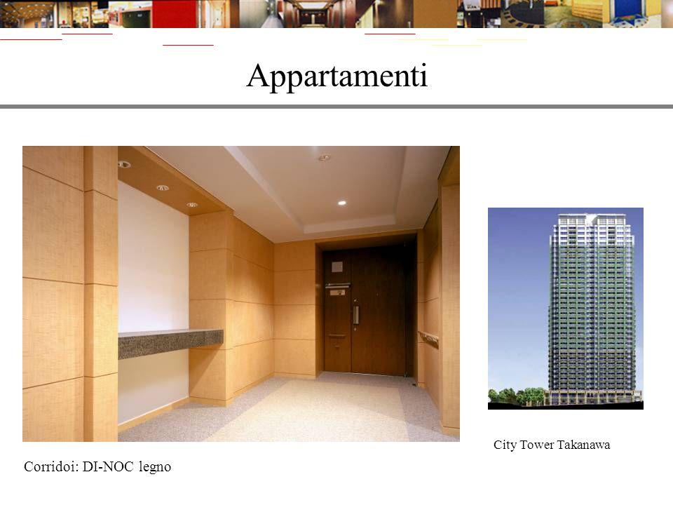 Appartamenti City Tower Takanawa Corridoi: DI-NOC legno
