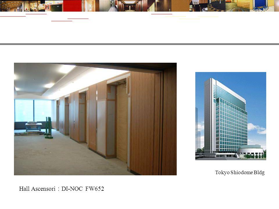 Tokyo Shiodome Bldg Hall Ascensori DI-NOC FW652