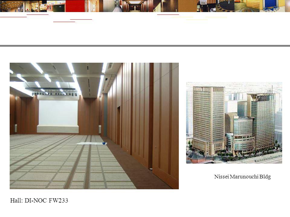 Nissei Marunouchi Bldg Hall: DI-NOC FW233