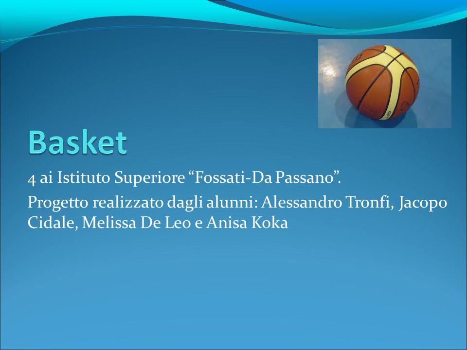 4 ai Istituto Superiore Fossati-Da Passano. Progetto realizzato dagli alunni: Alessandro Tronfi, Jacopo Cidale, Melissa De Leo e Anisa Koka