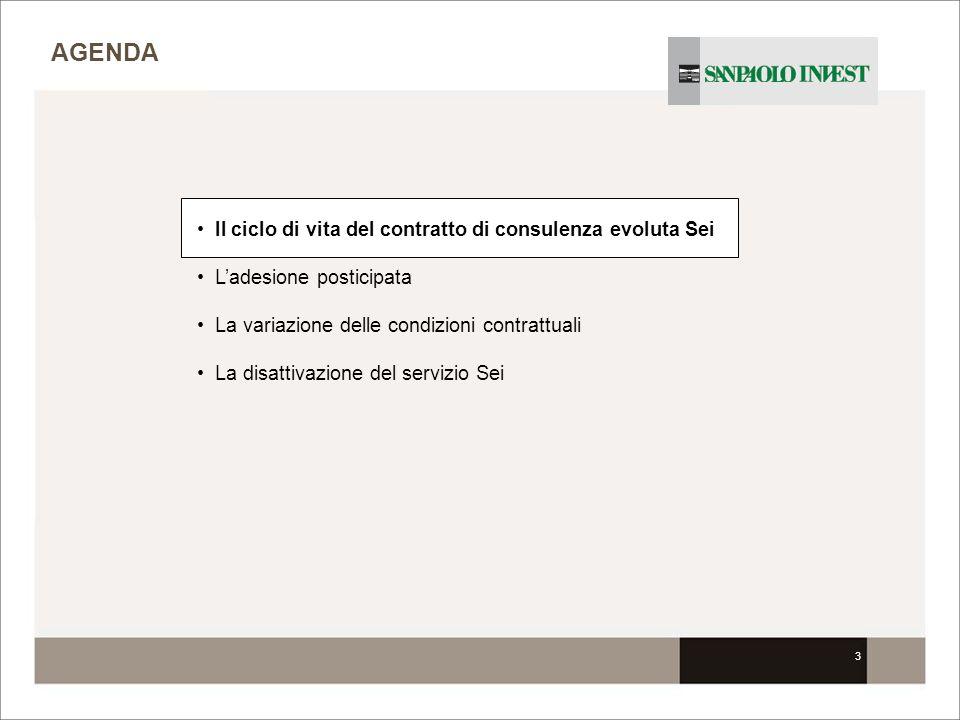 24 (solo componente consulenza base) UNA COPIA VIENE INVIATA IN SEDE Sottoscr.