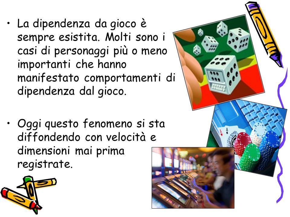 Il gioco, compreso quello d azzardo, è un attività ludica di per sé normale.