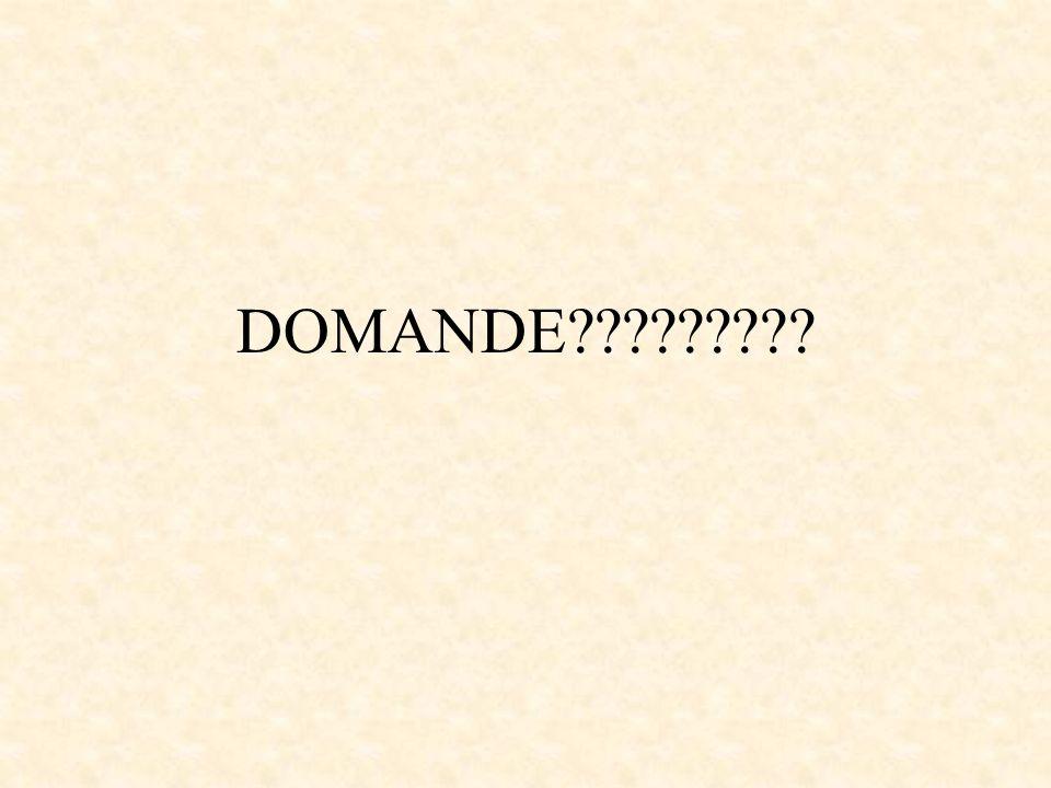 DOMANDE?????????