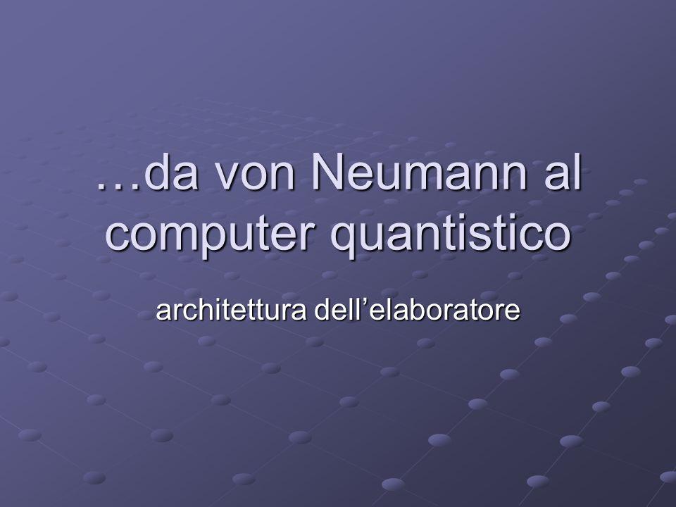 Limiti del modello di Von Neumann Collo di bottiglia.