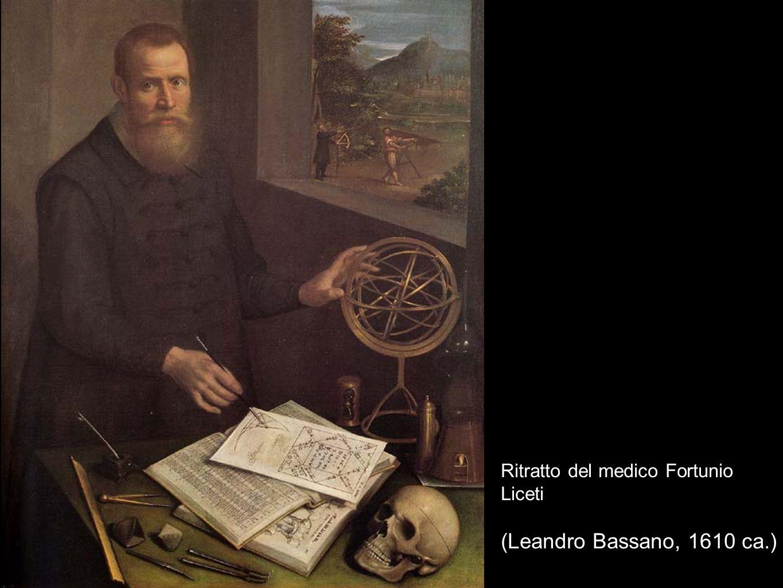 Ritratto del medico Fortunio Liceti (Leandro Bassano, 1610 ca.)