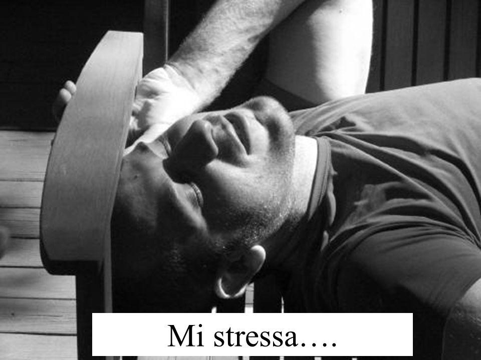 Mi stressa….