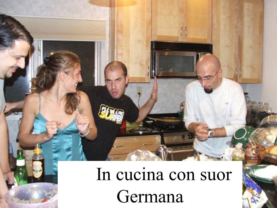 In cucina con suor Germana