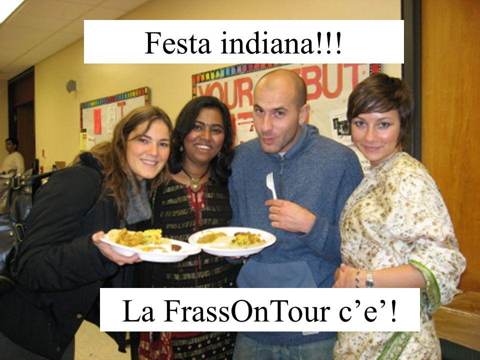 Festa indiana!!! La FrassOnTour ce!