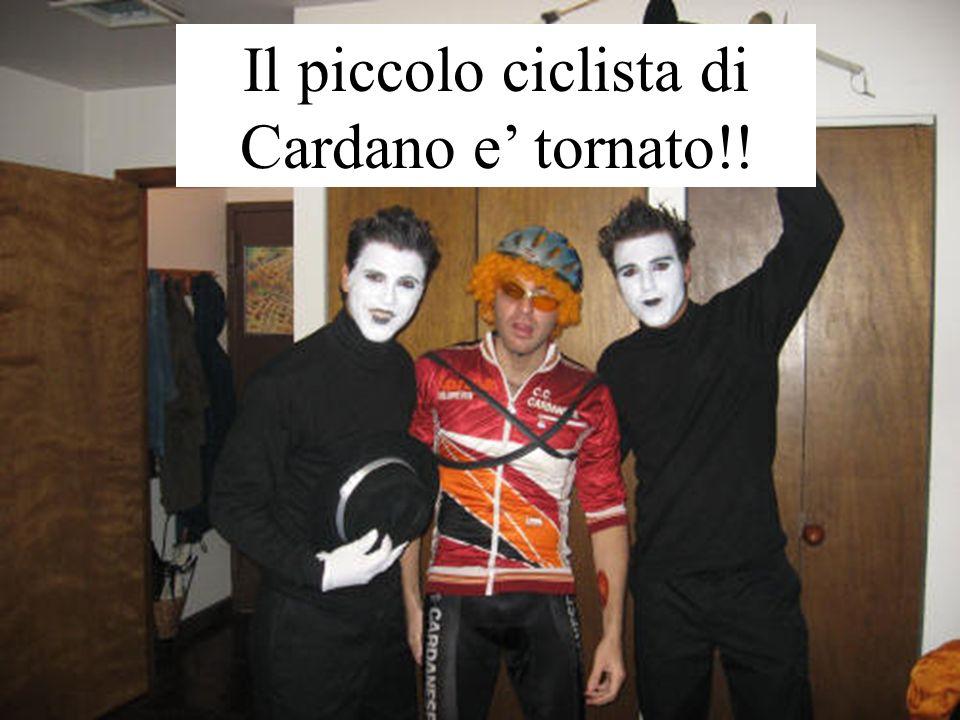 Il piccolo ciclista di Cardano e tornato!!