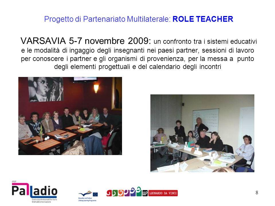 9 INTER International Education & Trainings Progetto di Partenariato Multilaterale: ROLE TEACHER In Polonia tutti gli insegnanti devono avere Un background pedagogico Una formazione di alto livello