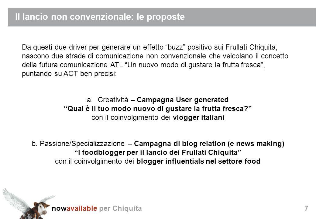nowavailable per Chiquita38 Step La strategia alla base dellinfiltration si compone di diversi step: Audit Analisi e strategia Relazione Reporting