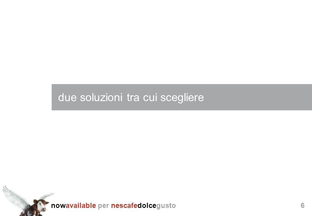 nowavailable per nescafedolcegusto