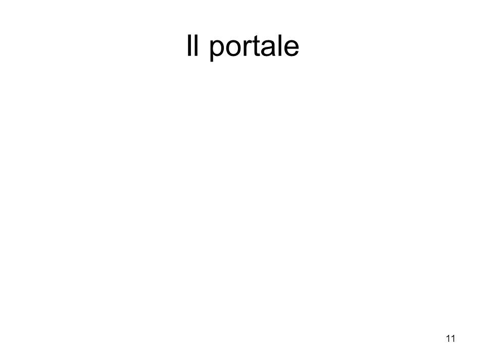 11 Il portale