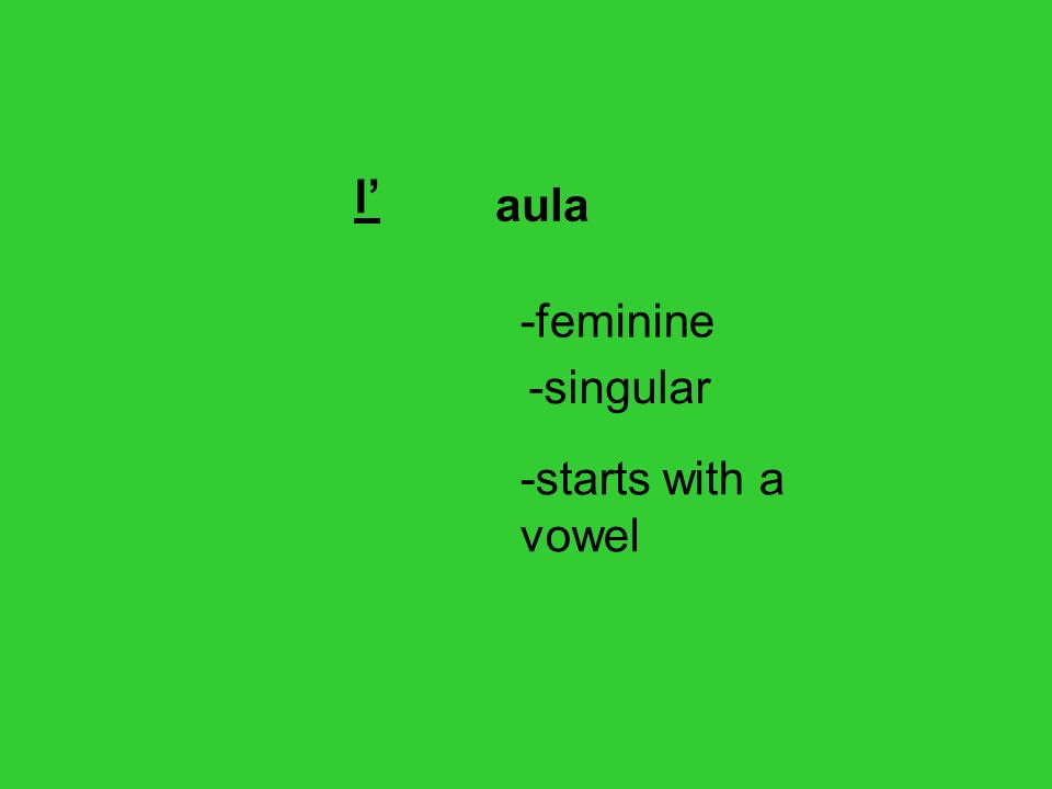 In english we add s but in italian we change the last letter of the noun.