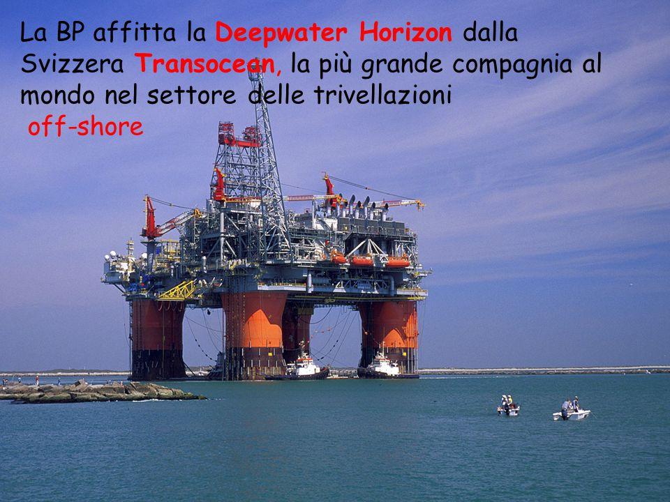 La piattaforma La Deepwater Horizon è stata realizzata sulla base di Deepwater Nautilis, meno evoluta perché incapace di operare in posizionamento dinamico.