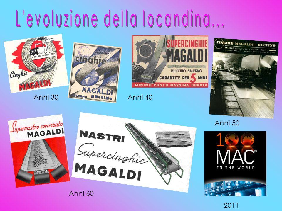 Anni 30Anni 40 Anni 60 Anni 50 2011