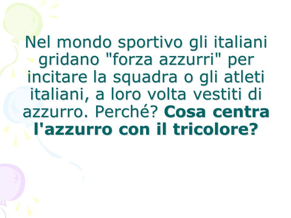 Nel mondo sportivo gli italiani gridano