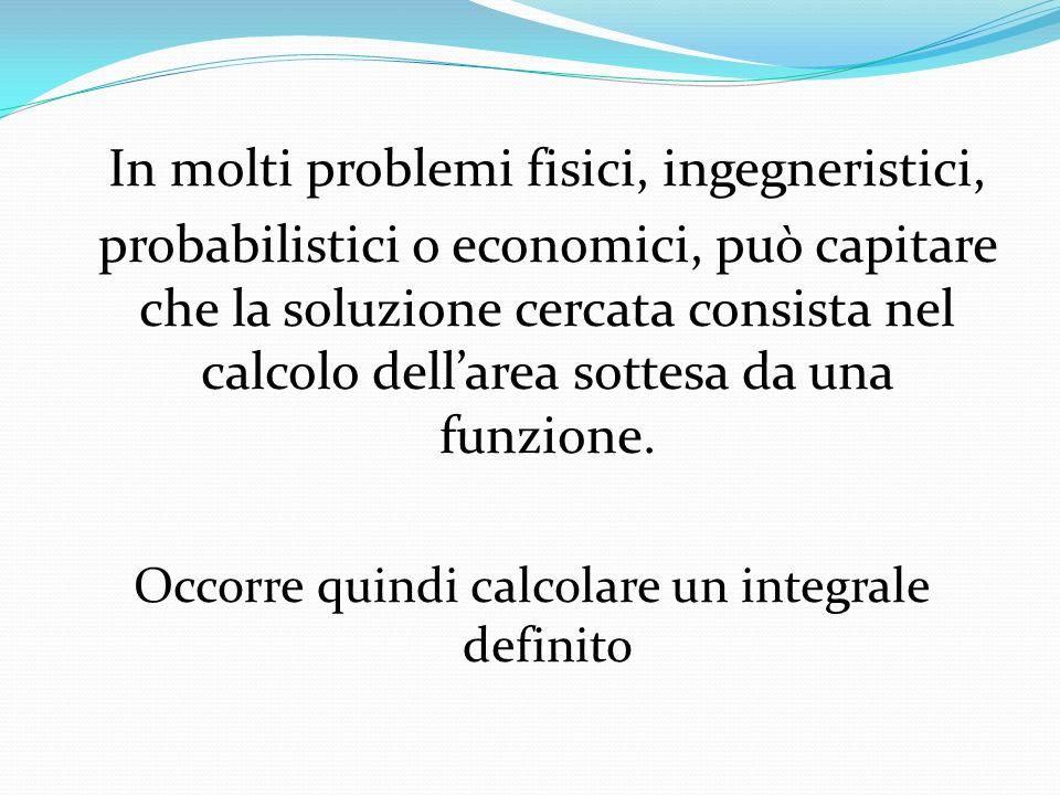 Possono sorgere le seguenti difficoltà: Non è possibile determinare una primitiva di f(x) malgrado sia una funzione continua.
