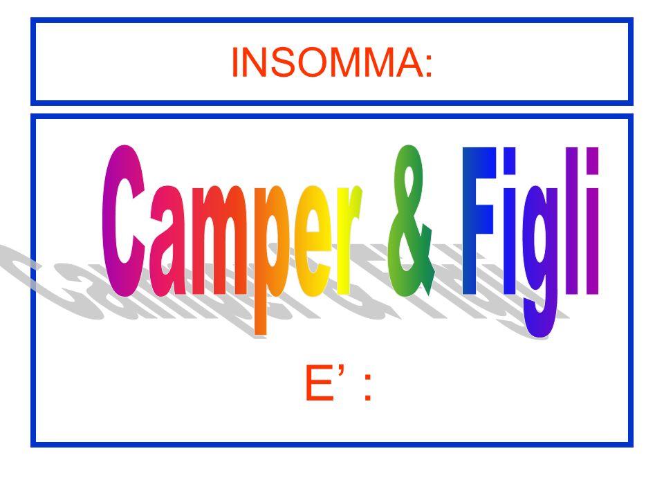 INSOMMA: E :
