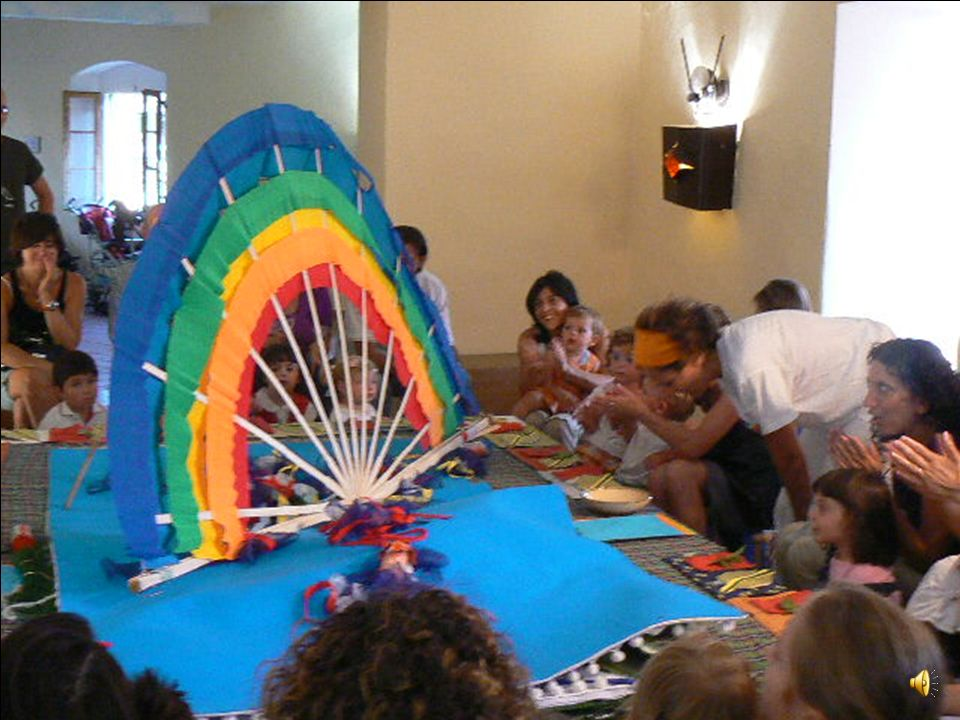 Attenzione! Esce larcobaleno! Adesso è il momento della festa…è il momento di assaggiare i colori!