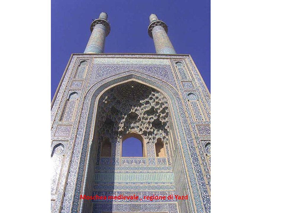 Moschea medievale, regione di Yazd