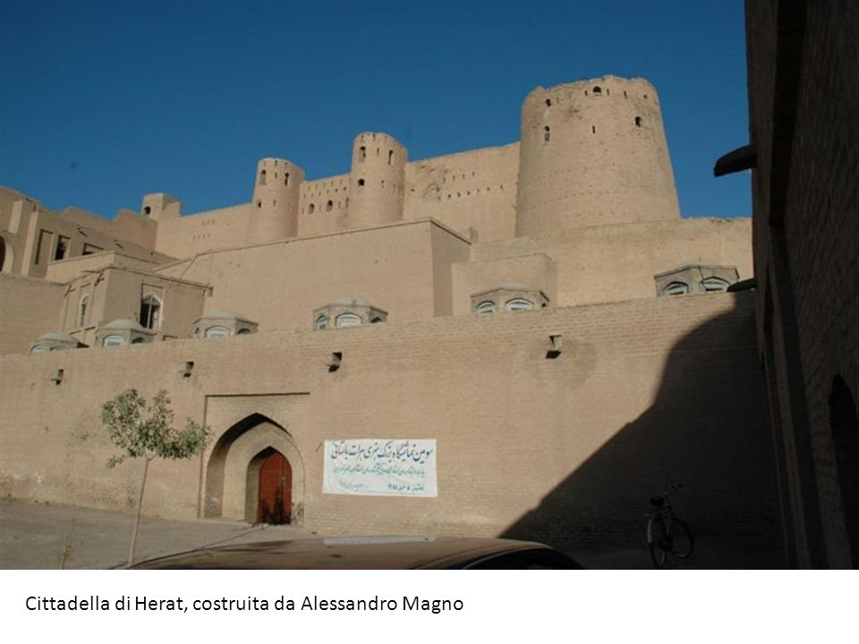 Cittadella di Herat, costruita da Alessandro Magno
