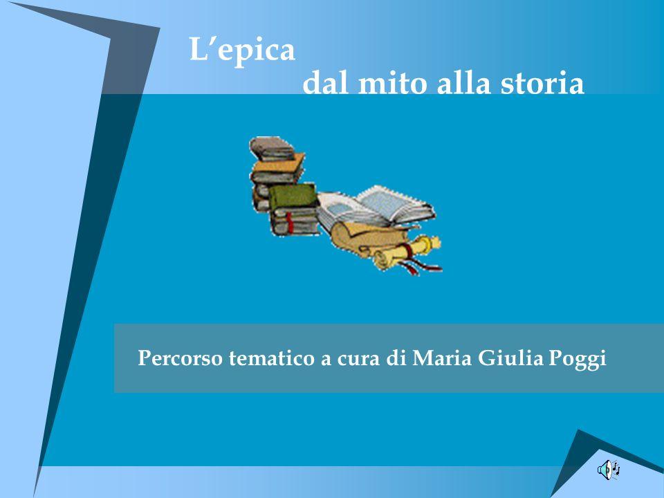 1.Epica greca antichissima Etimologia.