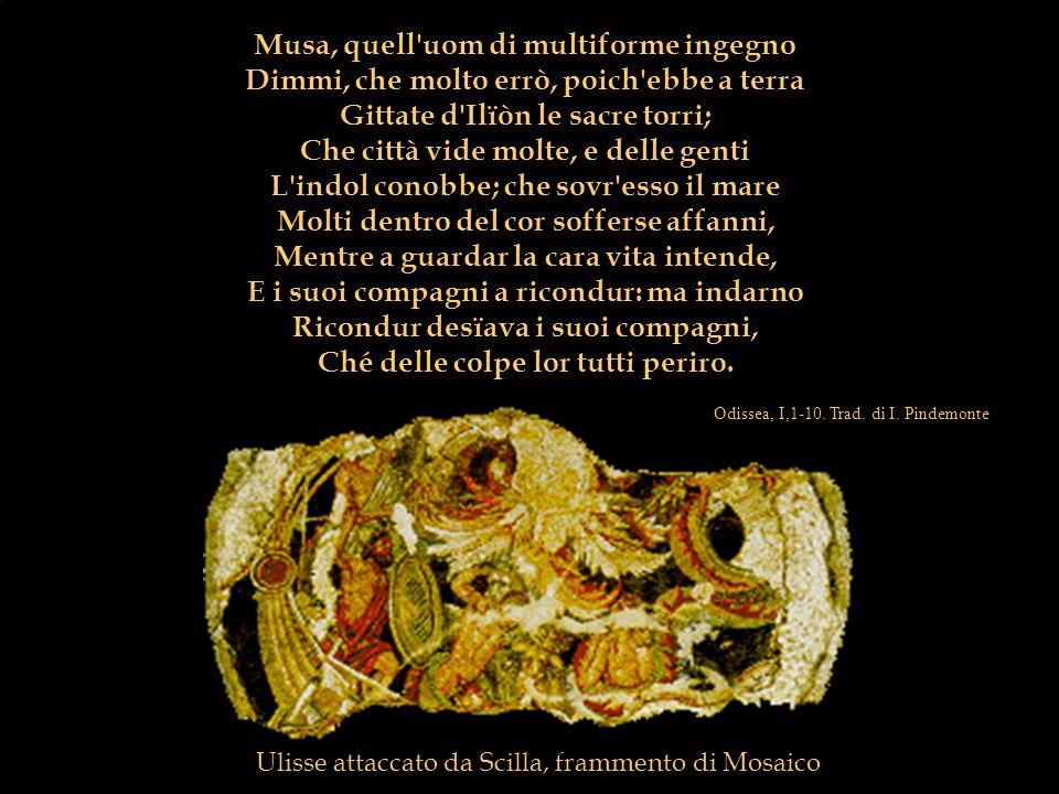 4. Epica eroica ed epica storica Storia Musa, quell'uom di multiforme ingegno Dimmi, che molto errò, poich'ebbe a terra Gittate d'Ilïòn le sacre torri