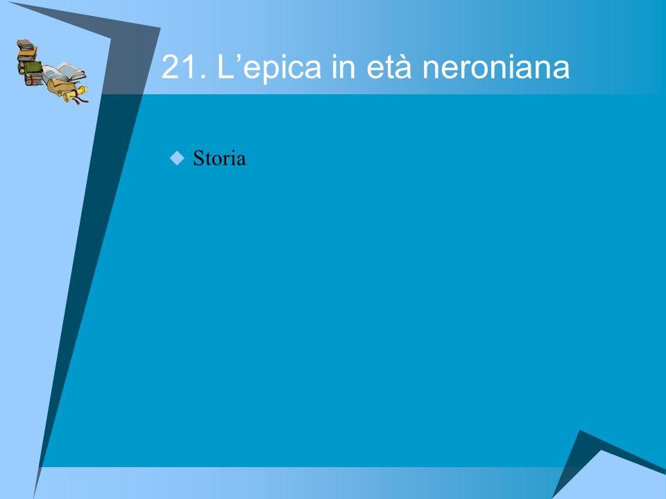 21. Lepica in età neroniana Storia