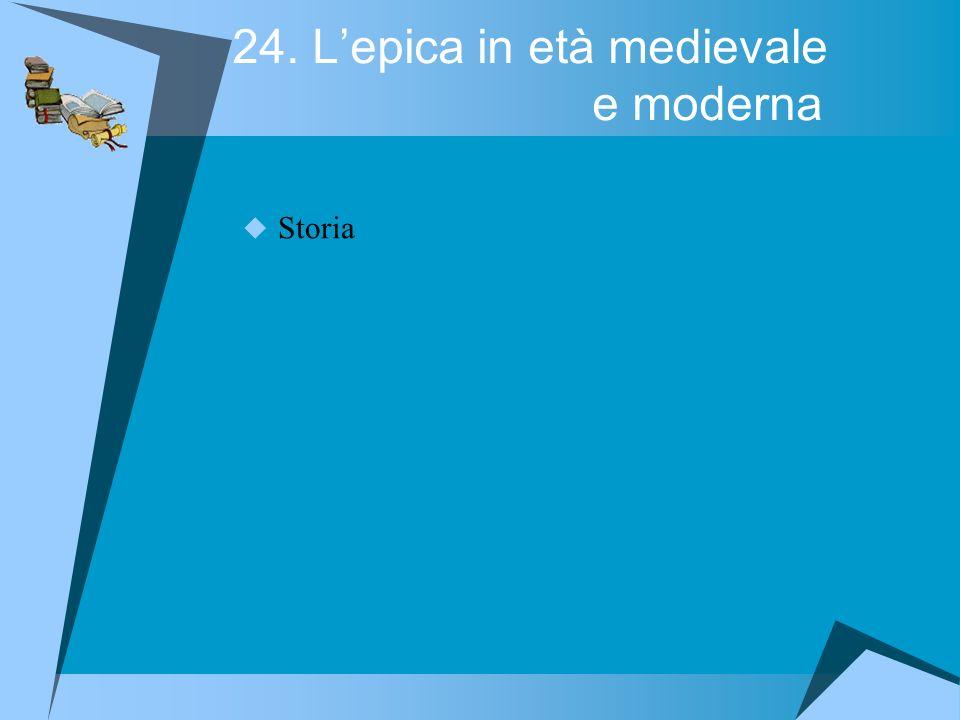 24. Lepica in età medievale e moderna Storia