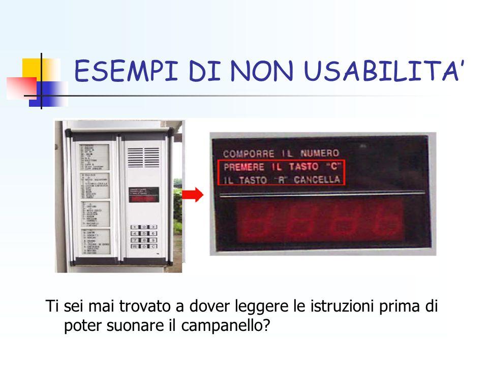 MODELLO DI USABILITA A 5 COMPONENTI 1.