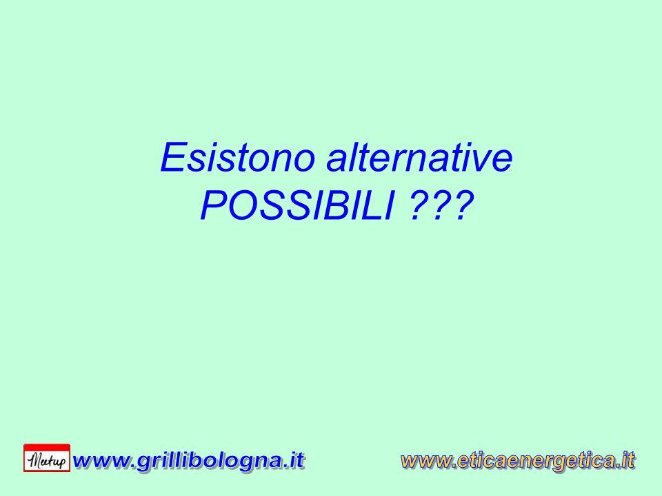 Esistono alternative POSSIBILI ???