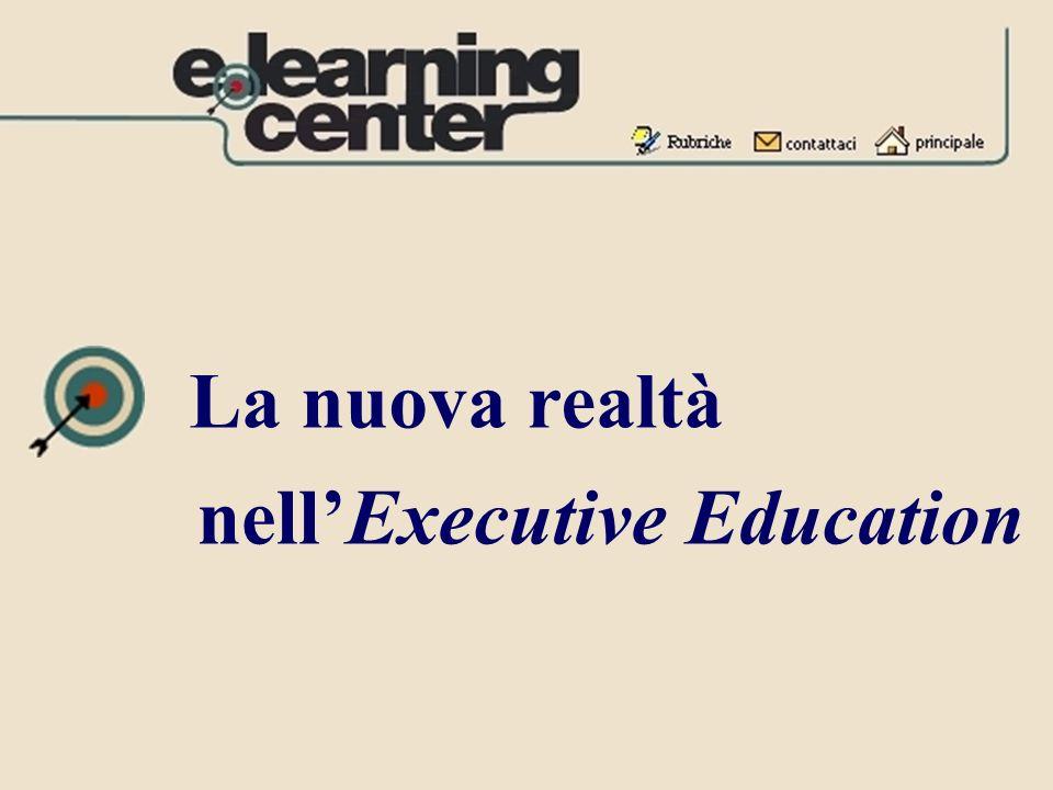 La nuova realtà nellExecutive Education