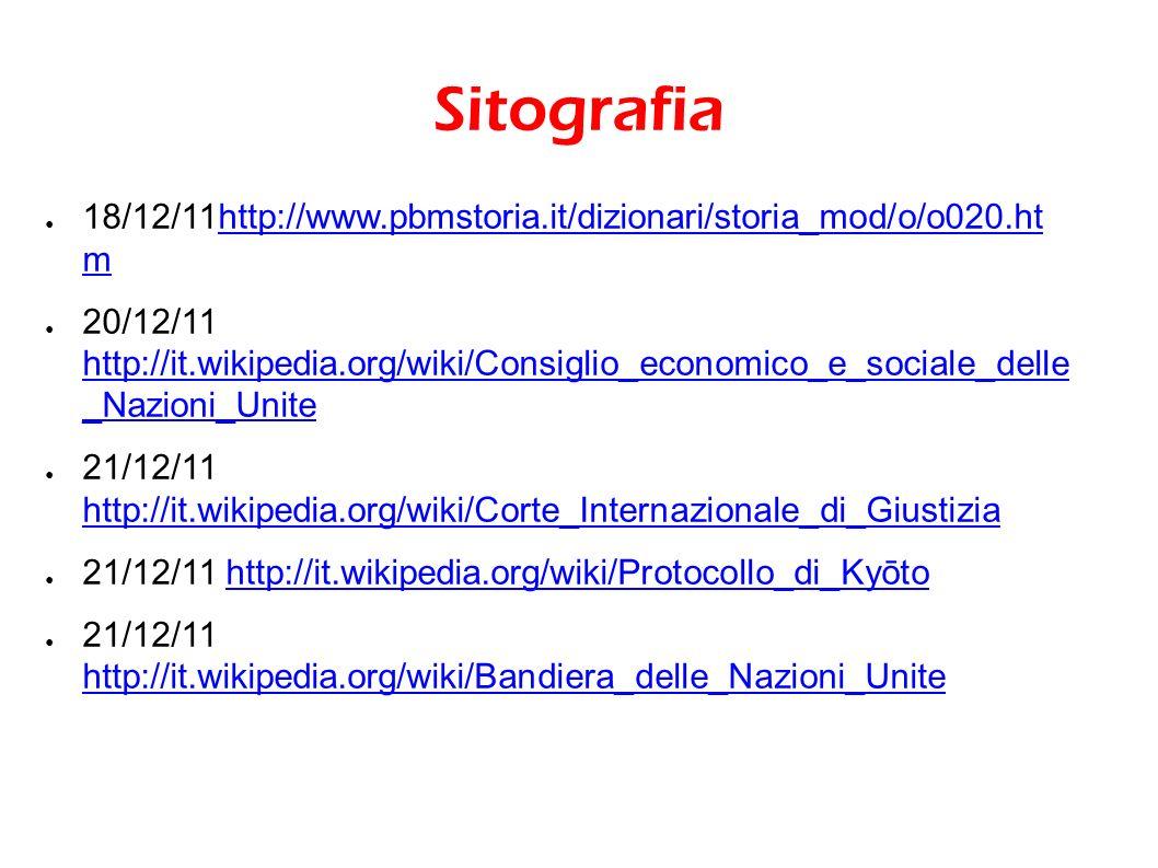 Sitografia 18/12/11http://www.pbmstoria.it/dizionari/storia_mod/o/o020.ht mhttp://www.pbmstoria.it/dizionari/storia_mod/o/o020.ht m 20/12/11 http://it