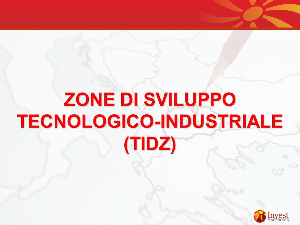 ZONE DI SVILUPPO TECNOLOGICO-INDUSTRIALE (TIDZ)