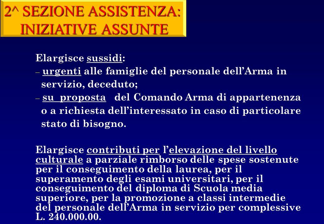 2° SEZIONE: GESTIONE CAPITOLI DI BILANCIO 42761