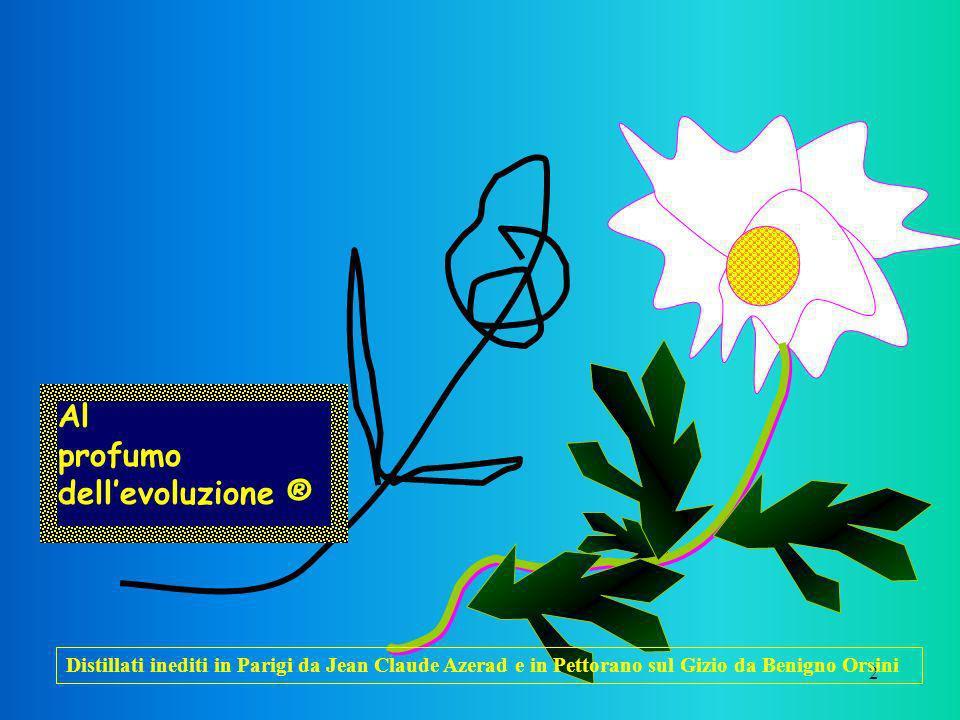 2 Al profumo dellevoluzione ® Distillati inediti in Parigi da Jean Claude Azerad e in Pettorano sul Gizio da Benigno Orsini